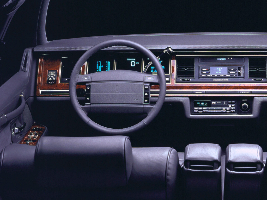 1992 Lincoln Town Car Information And Photos Momentcar