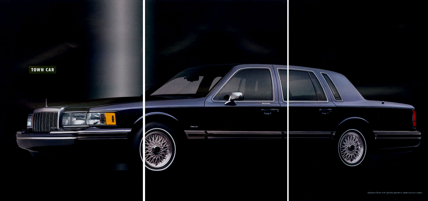 1992 lincoln town car information and photos momentcar. Black Bedroom Furniture Sets. Home Design Ideas