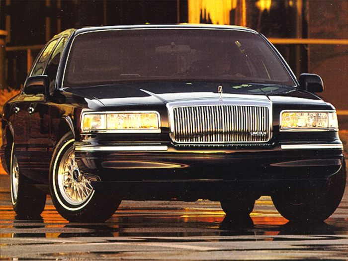 1995 lincoln town car information and photos momentcar. Black Bedroom Furniture Sets. Home Design Ideas