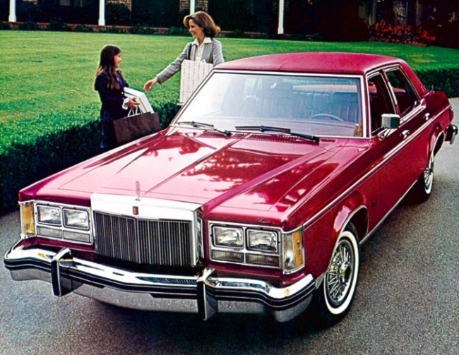 Lincoln Versailles 1978 #1