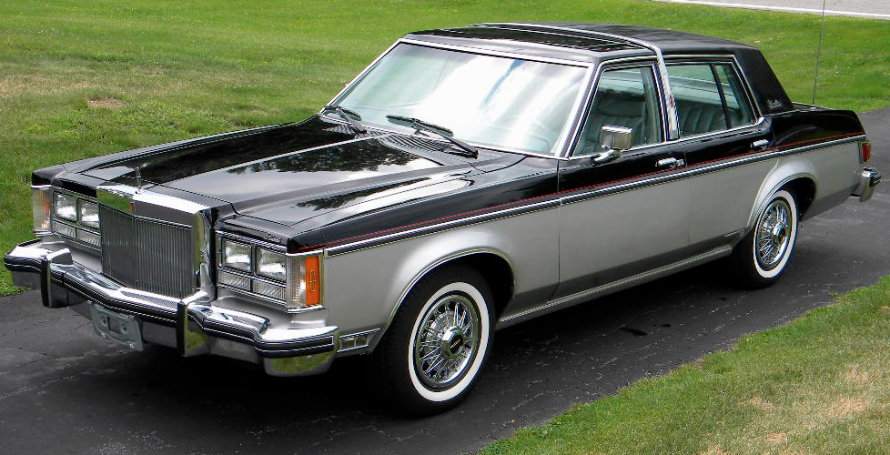 Lincoln Versailles 1978 #2