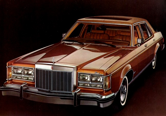Lincoln Versailles 1978 #3