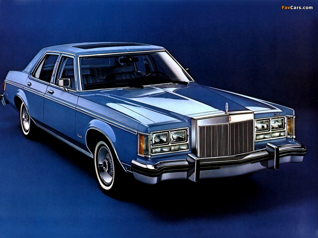 Lincoln Versailles 1978 #7