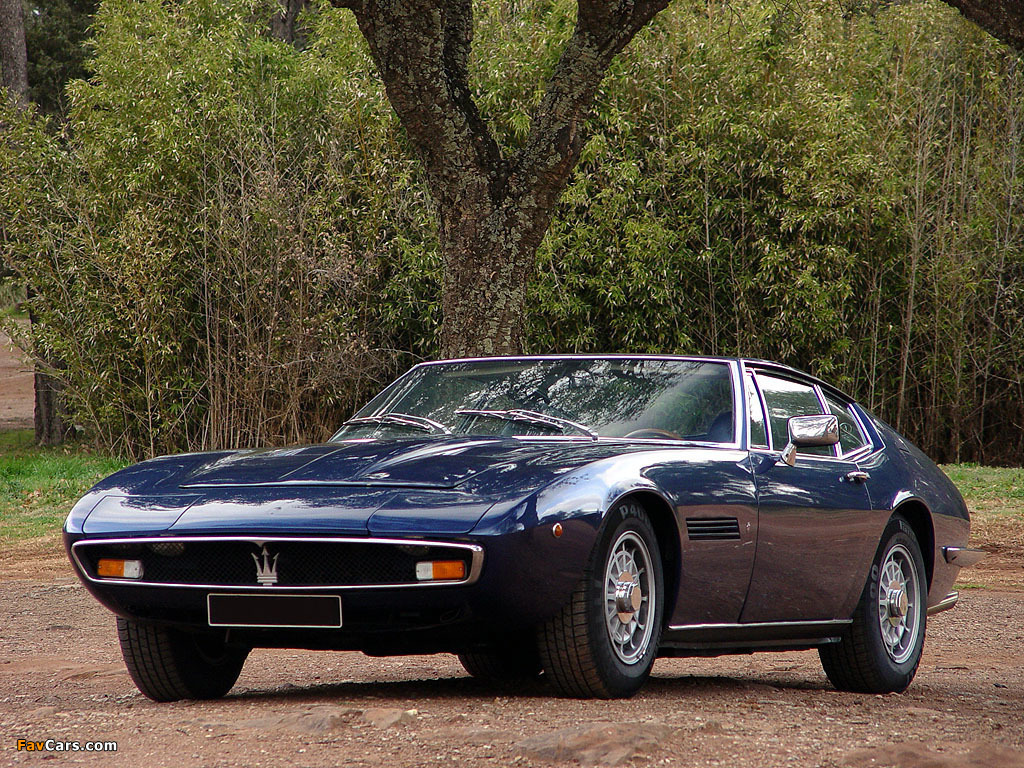 1967 Maserati Ghibli Information And Photos Momentcar
