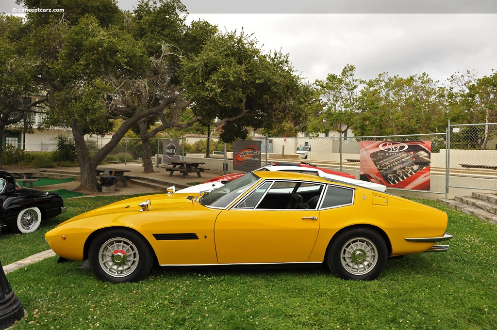 1967 Maserati Ghibli - Information and photos - MOTcar