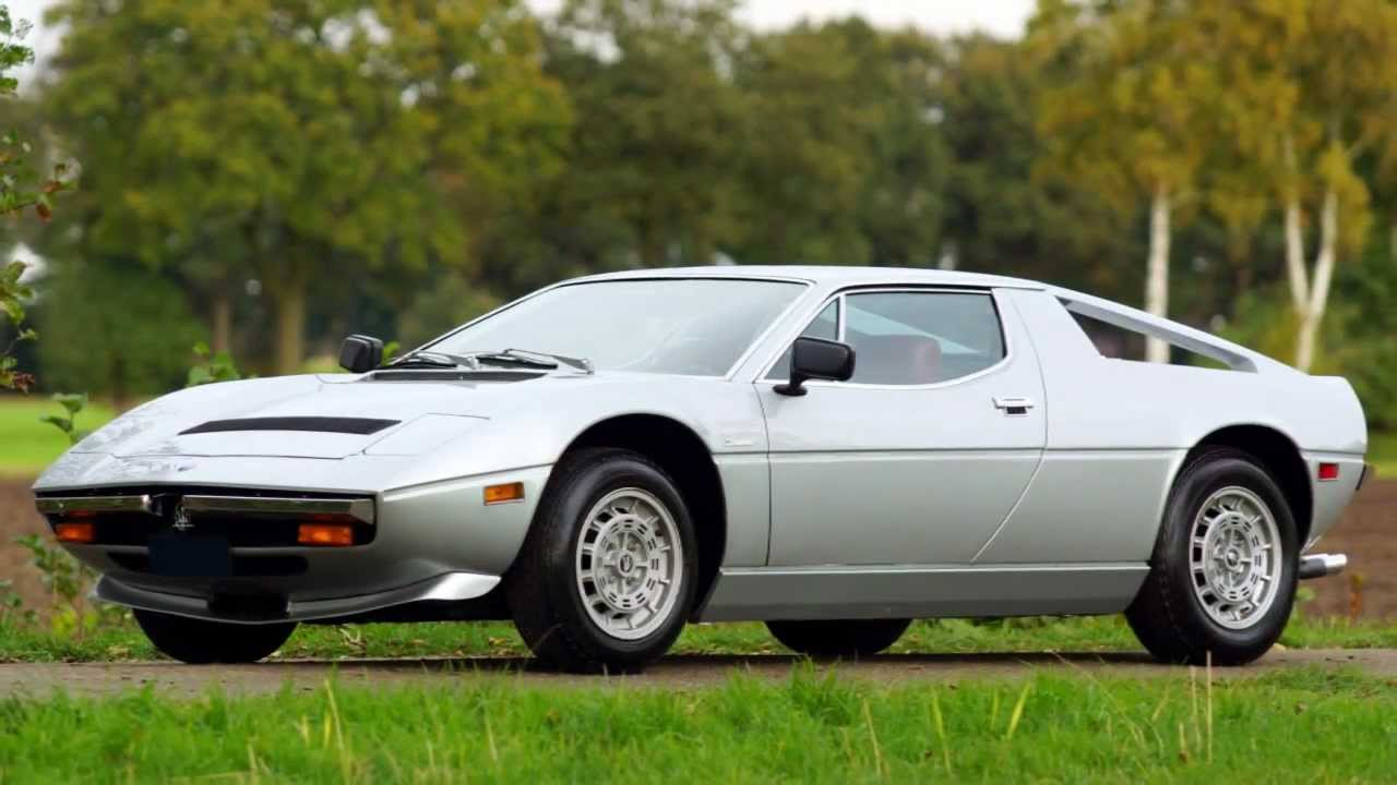 1978 Maserati Merak Information And Photos Momentcar