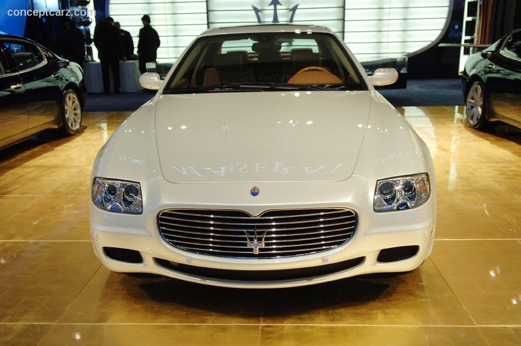 2007 maserati quattroporte information and photos momentcar. Black Bedroom Furniture Sets. Home Design Ideas
