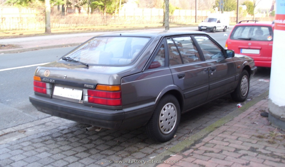 1983 Mazda 626 - Information and photos - MOTcar
