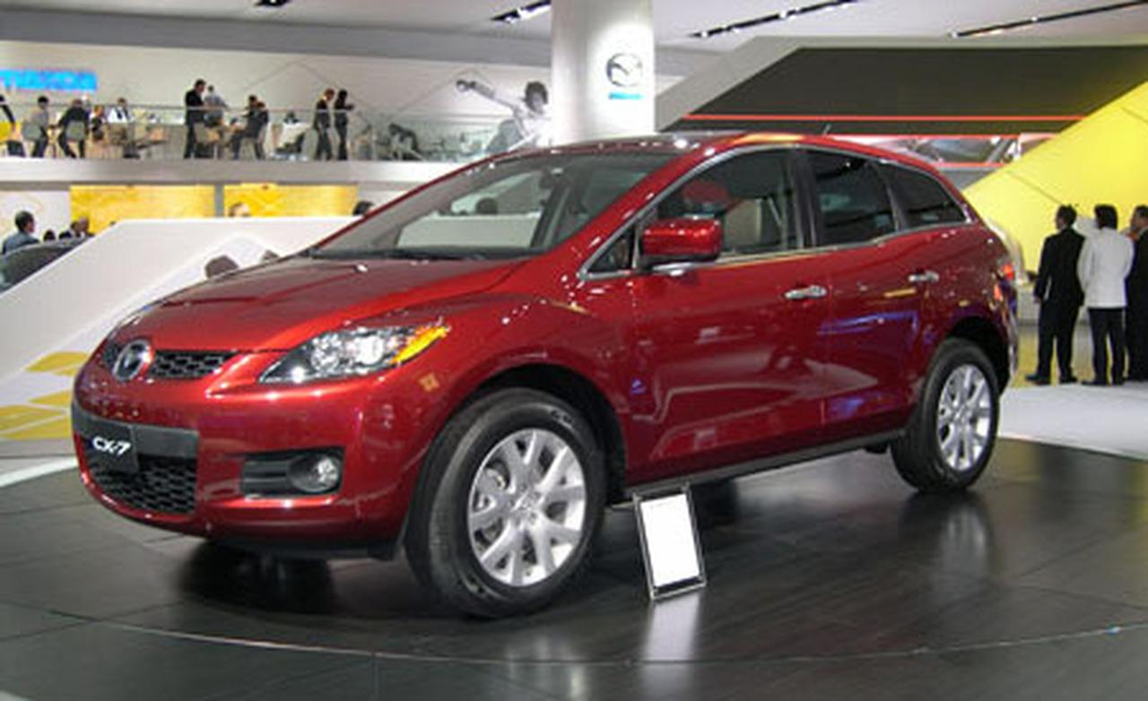 2007 mazda cx 7 information and photos momentcar. Black Bedroom Furniture Sets. Home Design Ideas