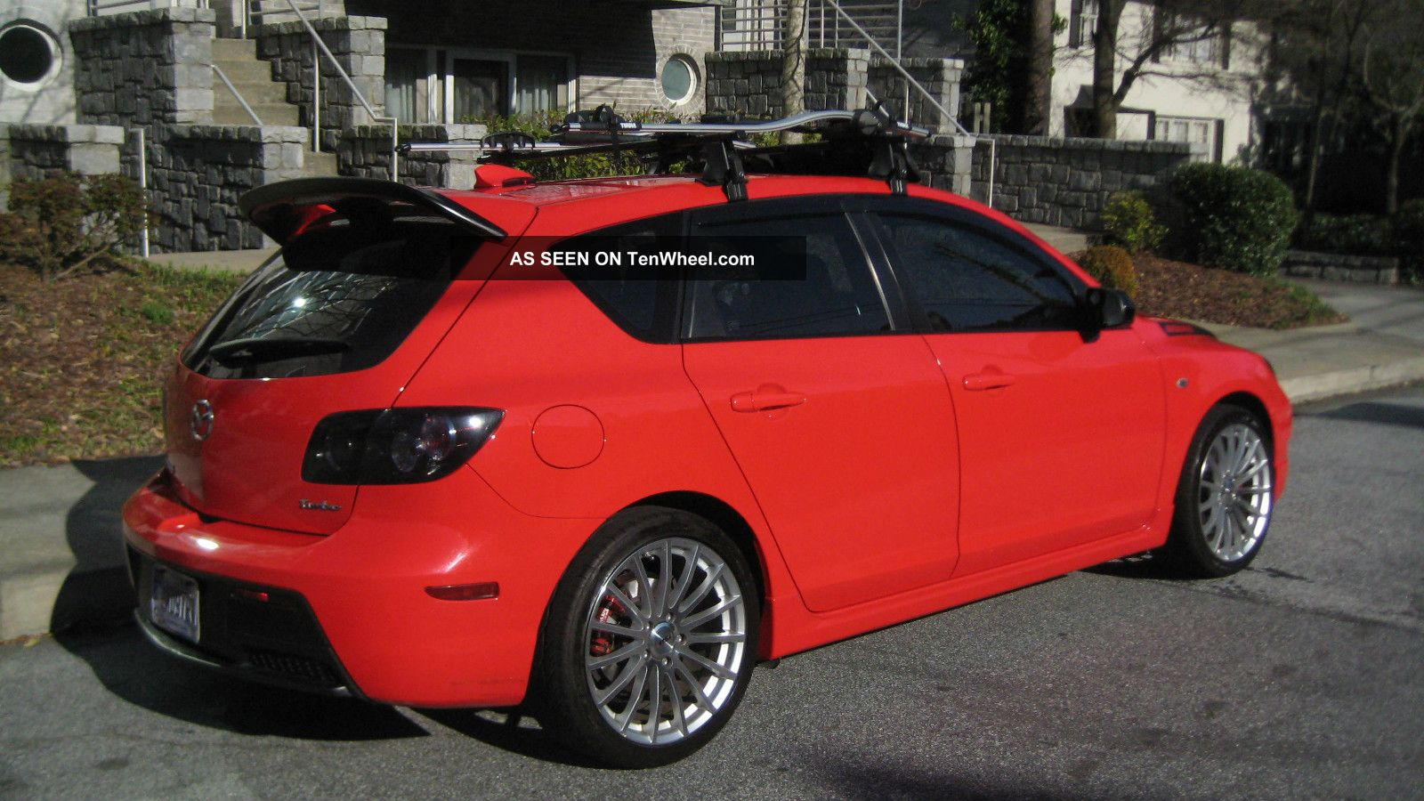 2007 mazda mazdaspeed mazda3 information and photos. Black Bedroom Furniture Sets. Home Design Ideas