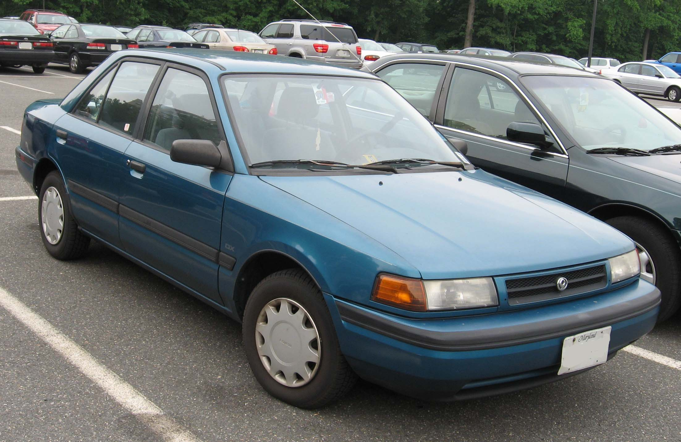 Gas Classic: 1989-1993 Mazda Protege – Seen on the Street…
