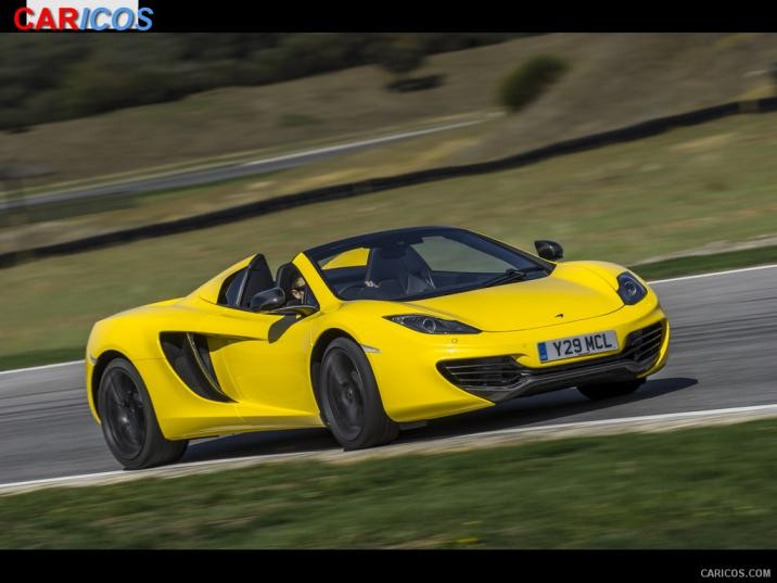 McLaren MP4-12C Spider Base #2