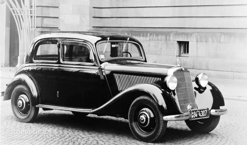 1947 Mercedes-benz 170 - Information And Photos