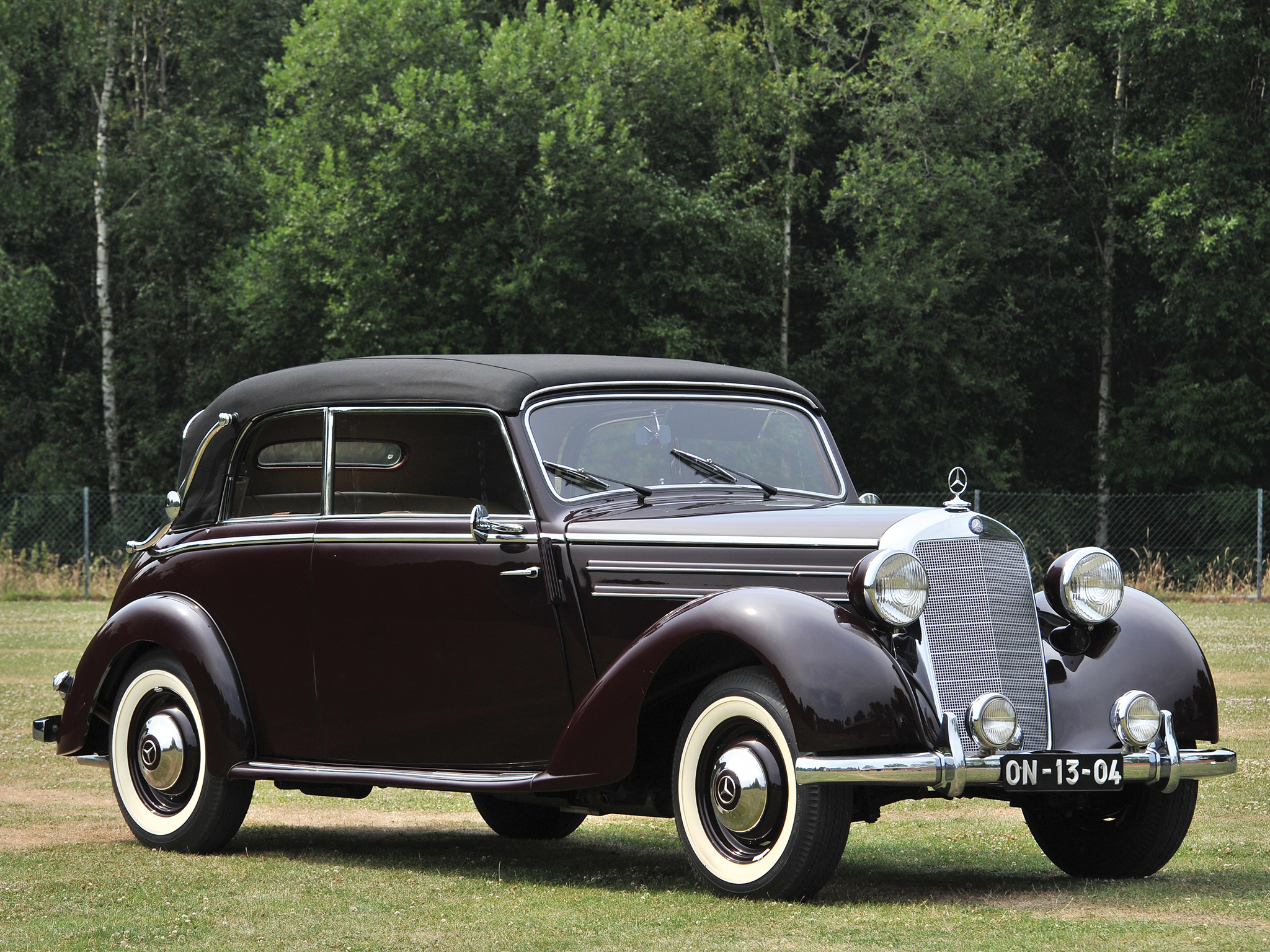 1950 mercedes benz 170 information and photos momentcar. Black Bedroom Furniture Sets. Home Design Ideas