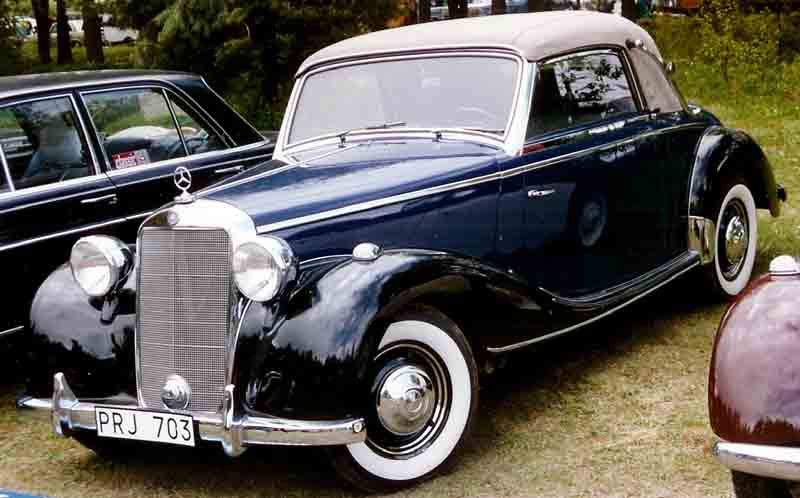 Image gallery mercedes benz 1950 for 1950s mercedes benz