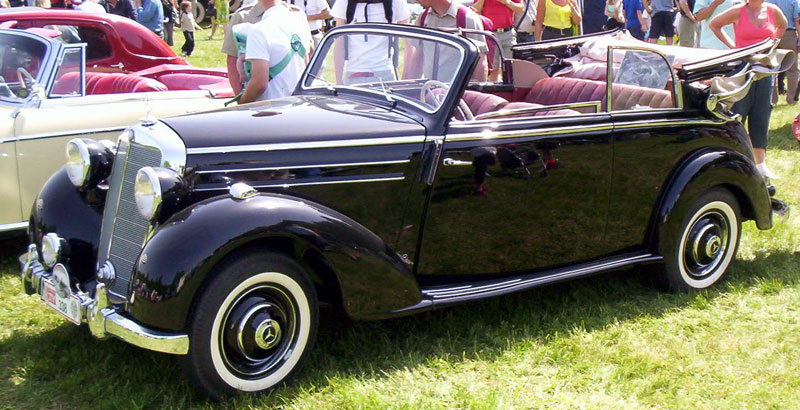 1953 mercedes benz 170 information and photos momentcar for 1953 mercedes benz 220 sedan for sale