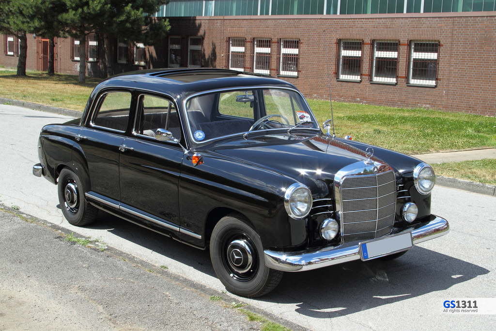 1953 mercedes benz 180 information and photos momentcar. Black Bedroom Furniture Sets. Home Design Ideas