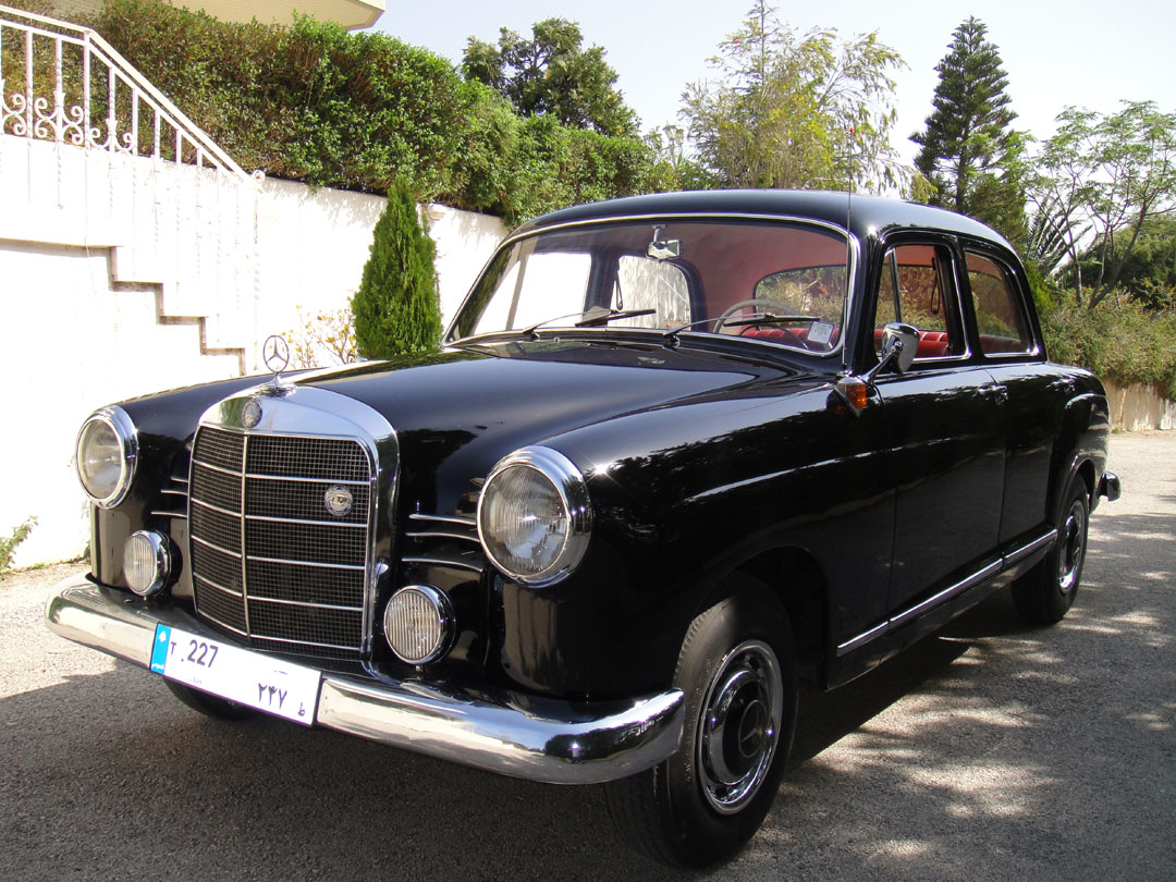1960 mercedes benz 180 information and photos momentcar for Facts about mercedes benz