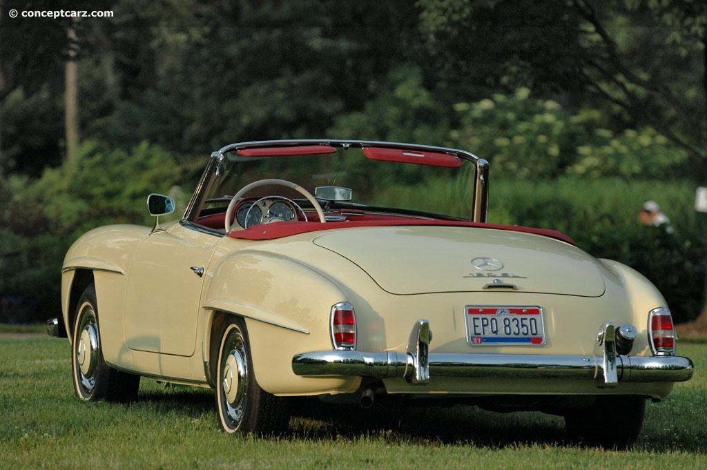 1959 mercedes benz 190 information and photos momentcar for 190 mercedes benz for sale
