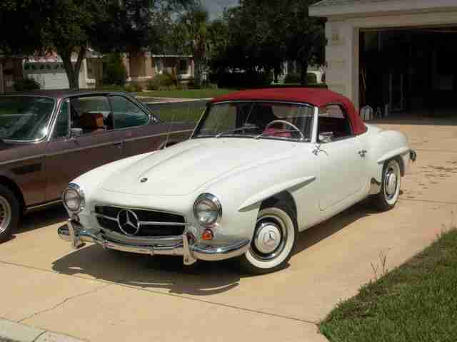 1962 mercedes benz 190sl information and photos momentcar
