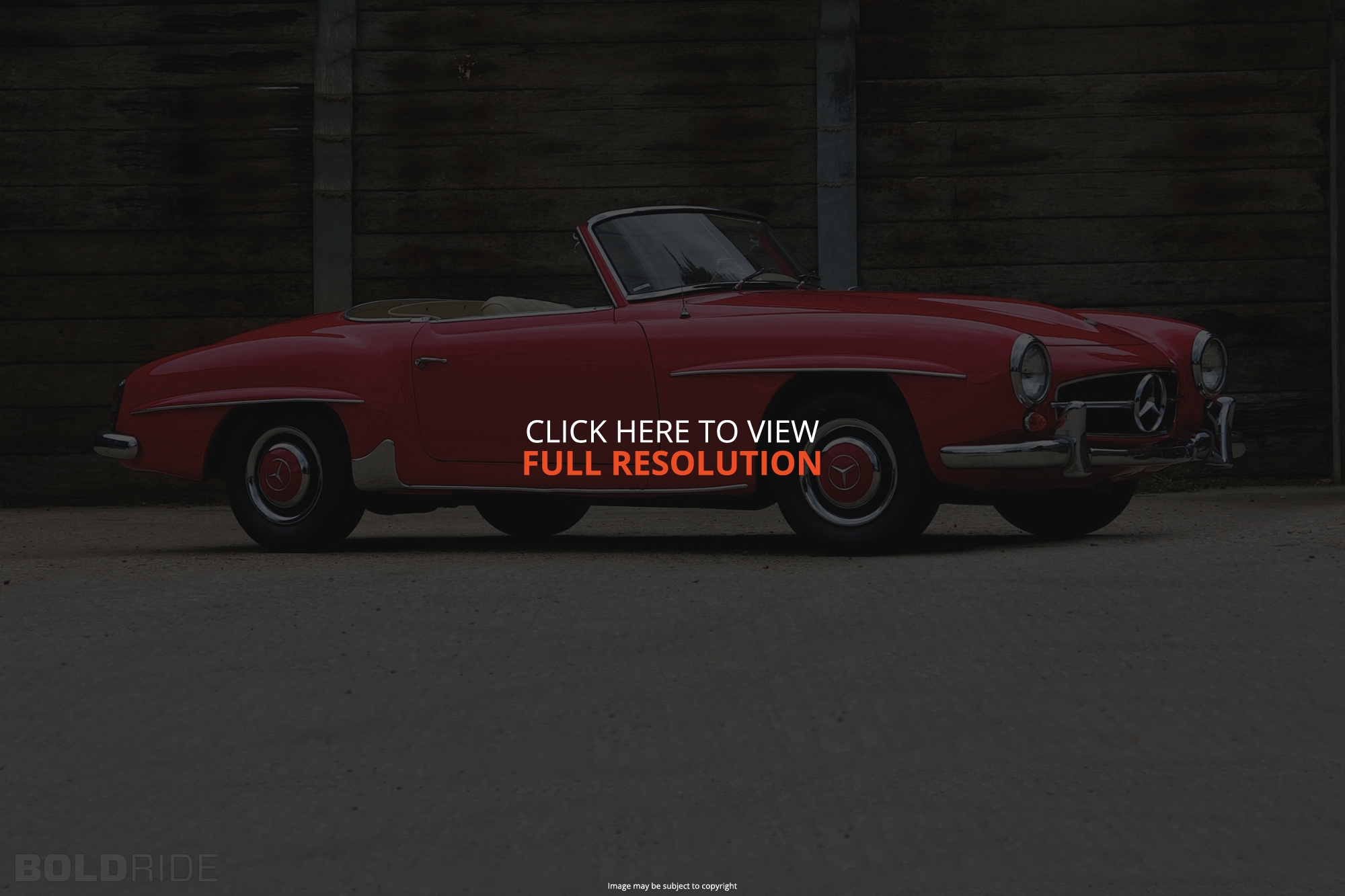 Mercedes-Benz 190SL #7