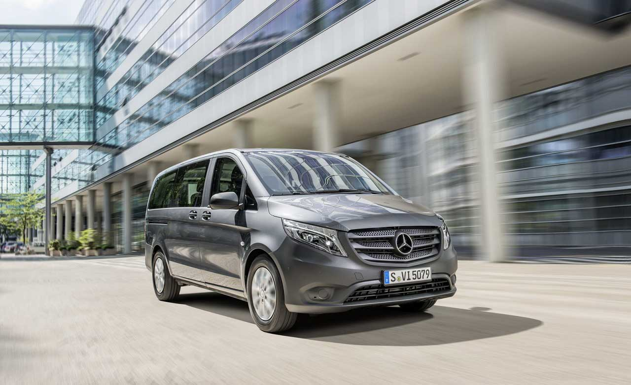 Mercedes benz 2015 vito a premium class van for Mercedes benz van 2015
