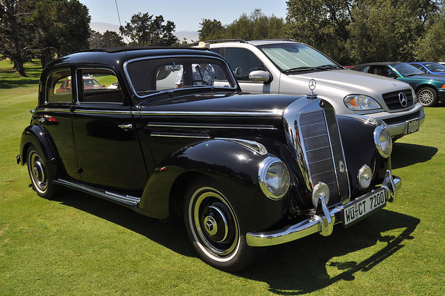 1952 mercedes benz 220 information and photos momentcar