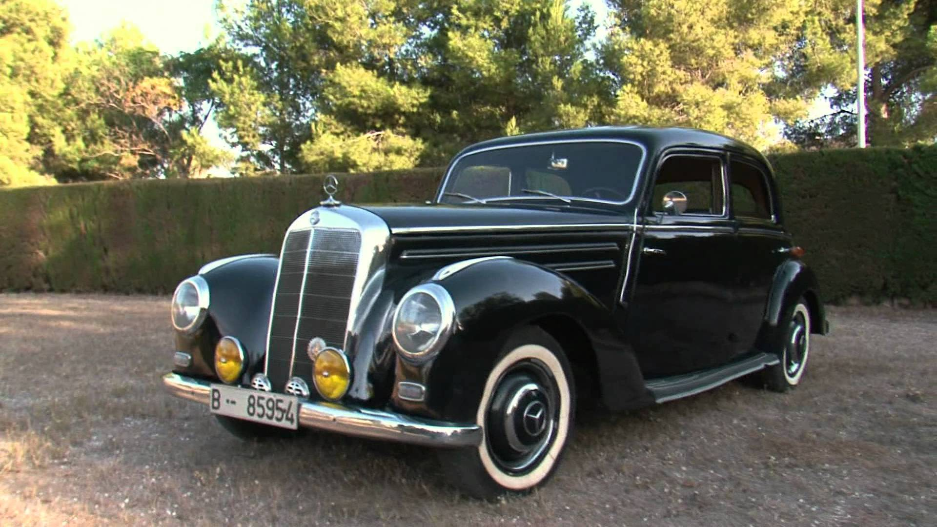 1952 mercedes benz 220 information and photos momentcar for 1953 mercedes benz 220 sedan for sale