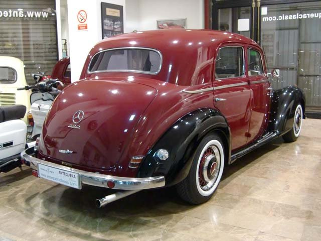 Mercedes benz 220 62px image 4 for 1953 mercedes benz 220 sedan for sale