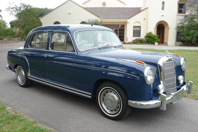 1956 mercedes benz 220 information and photos momentcar for Mercedes benz 220s for sale