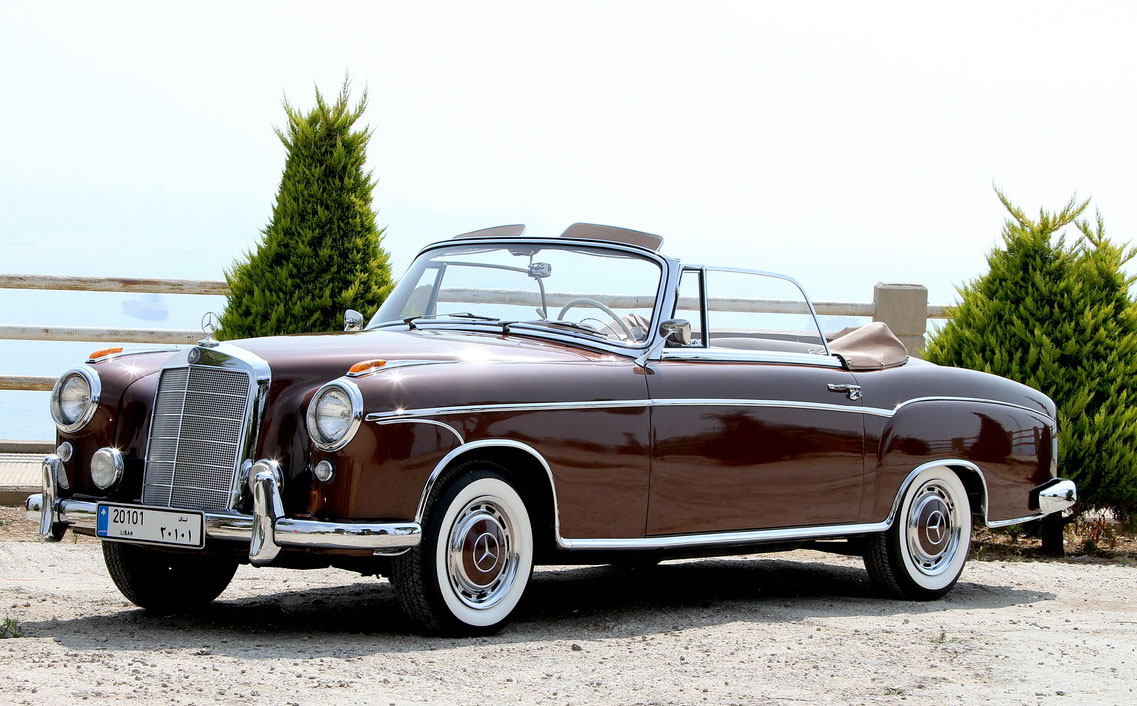1957 mercedes benz 220s information and photos momentcar for Mercedes benz 220 s