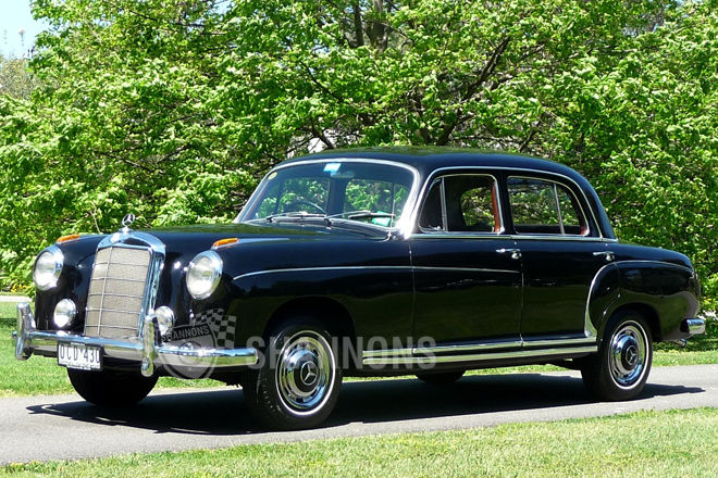1958 mercedes benz 220s information and photos momentcar for 1958 mercedes benz 220s for sale