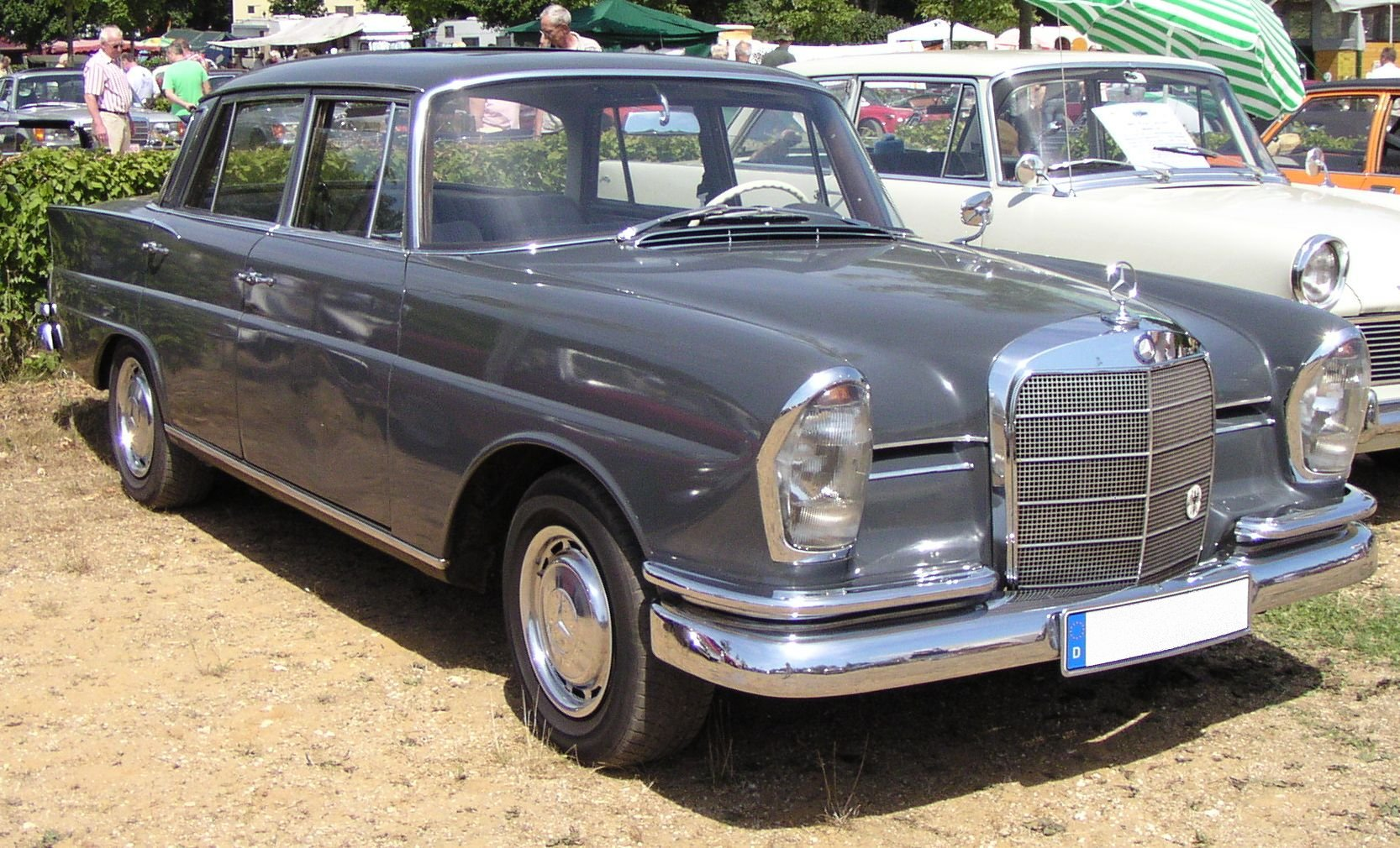 1960 Mercedes Benz 220s Information And Photos Momentcar