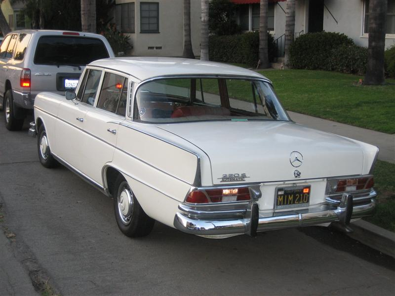 1965 Mercedes Benz 220s Information And Photos Momentcar