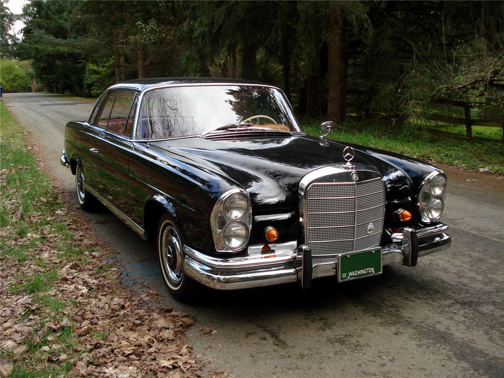 1962 Mercedes-benz 220se - Information And Photos