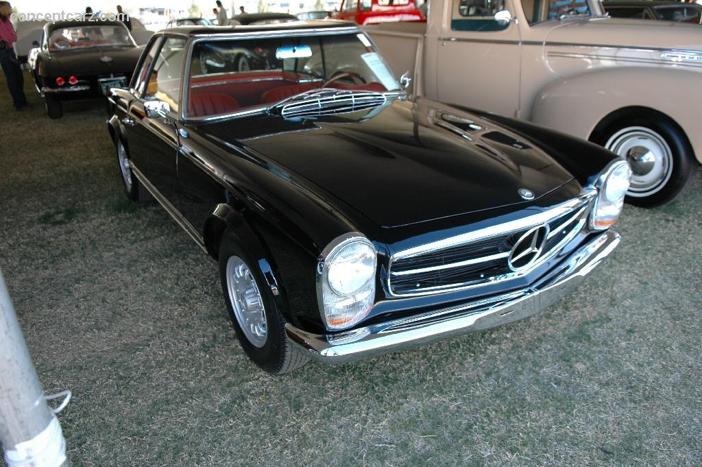 1966 mercedes benz 230sl information and photos momentcar for Mercedes benz 230sl