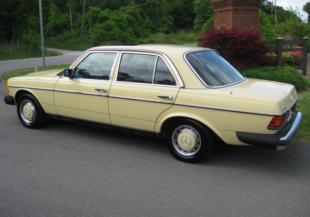1979 Mercedes Benz 240d Information And Photos Momentcar