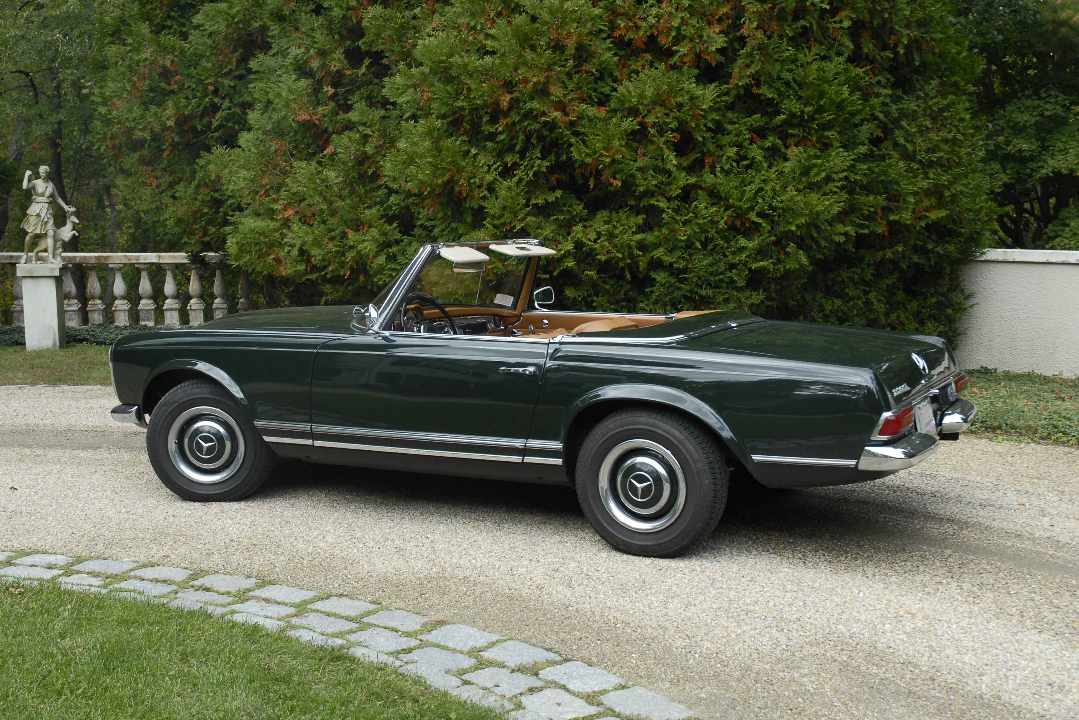 Mercedes Benz 250sl Information And Photos Momentcar