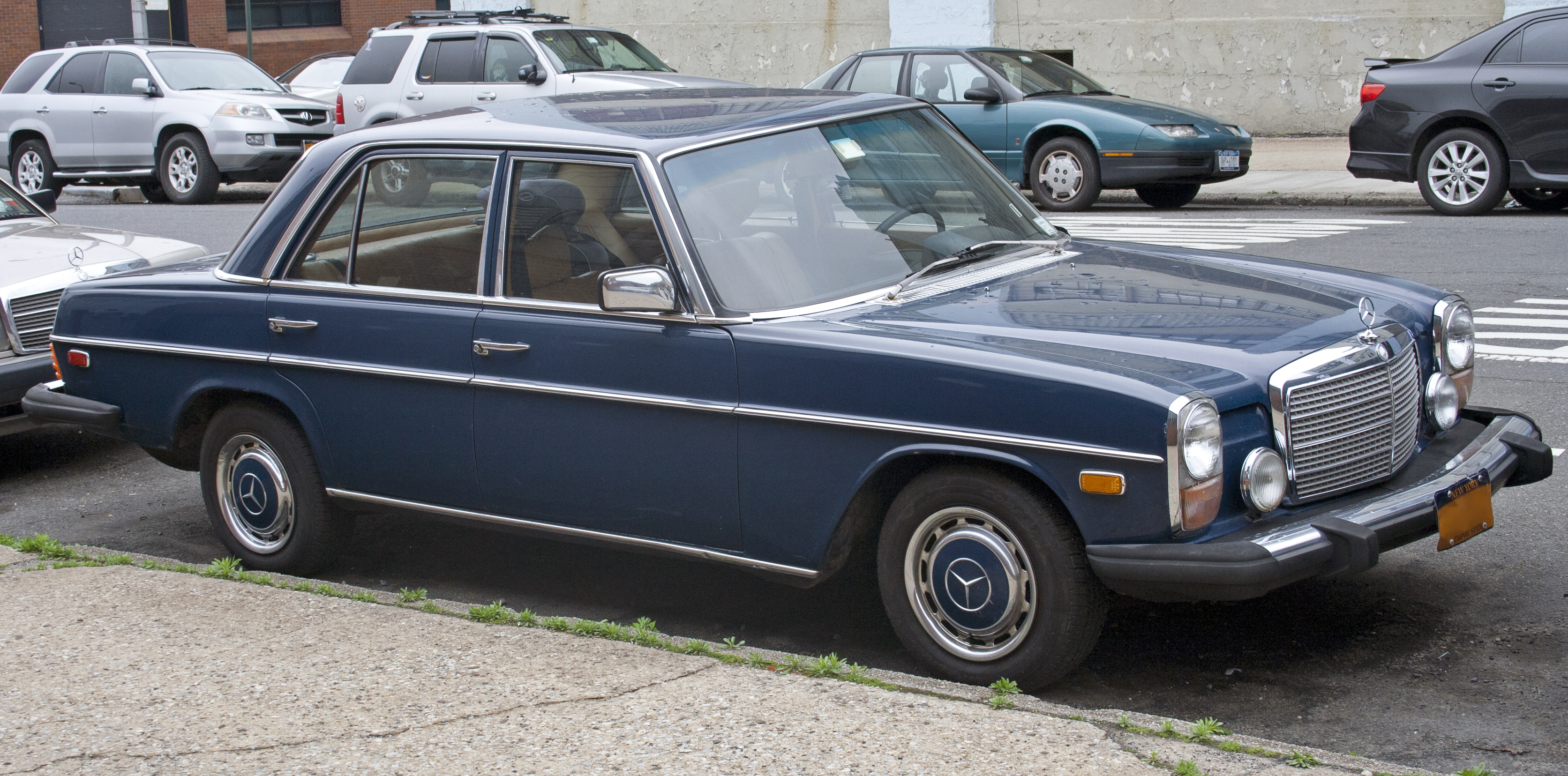 1973 Mercedes-Benz 280 - Information and photos - MOMENTcar