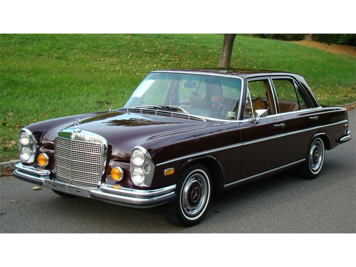 1973 mercedes benz 280 information and photos momentcar