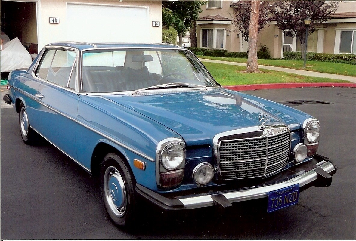 Mercedes benz 280c information and photos momentcar for Facts about mercedes benz