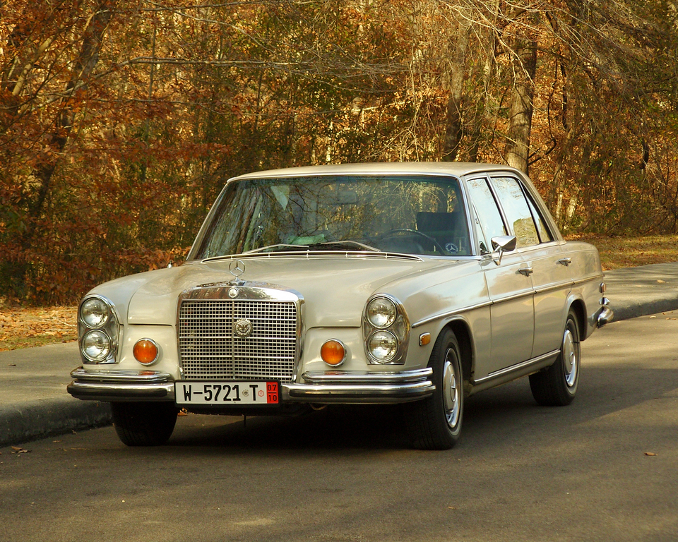 1970 mercedes benz 280se information and photos momentcar