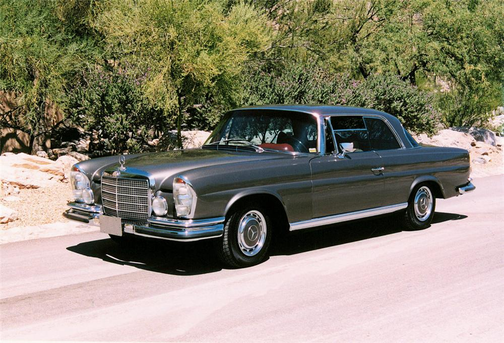 1970 mercedes benz 280se information and photos momentcar for Mercedes benz 400 se