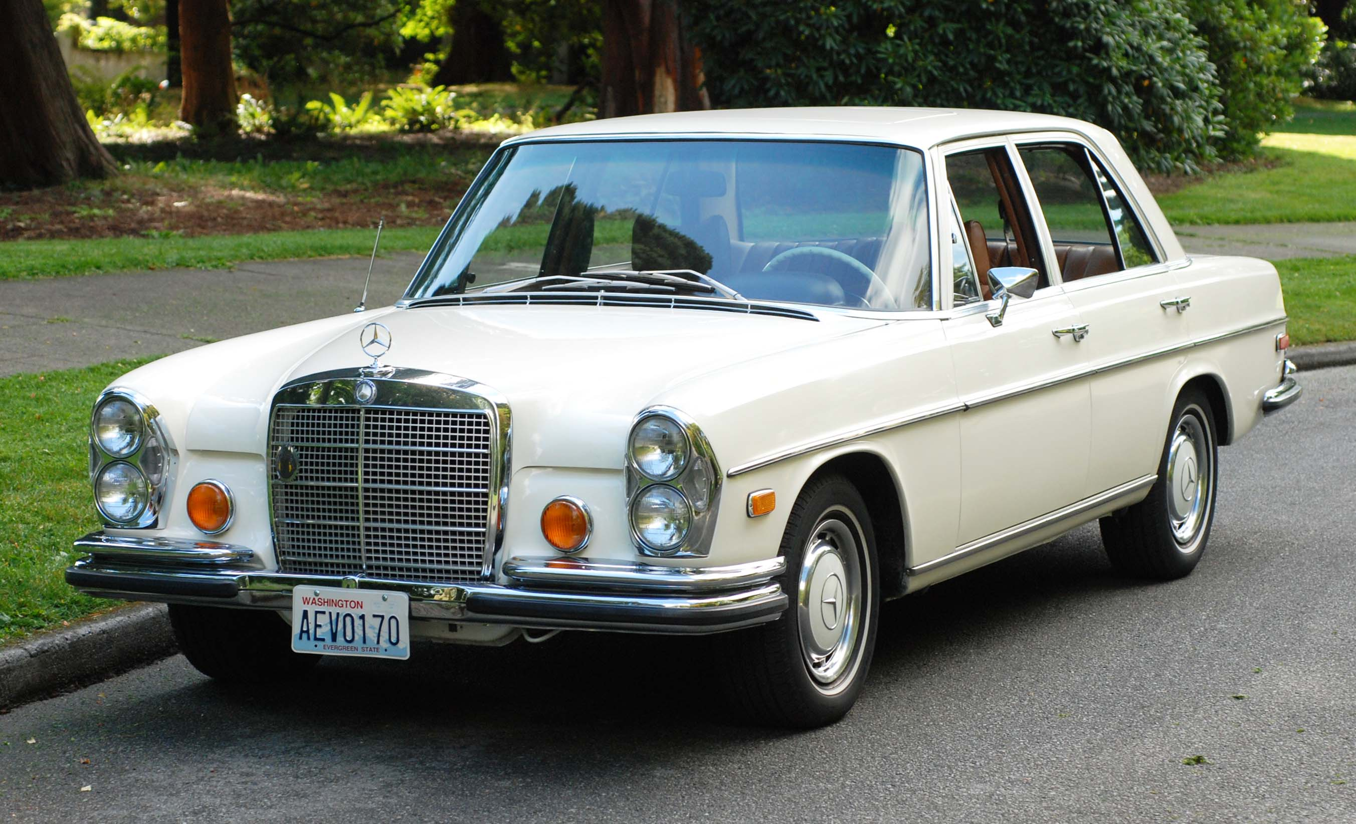 1972 Mercedes Benz 280se Information And Photos Momentcar Wiring Diagram 3