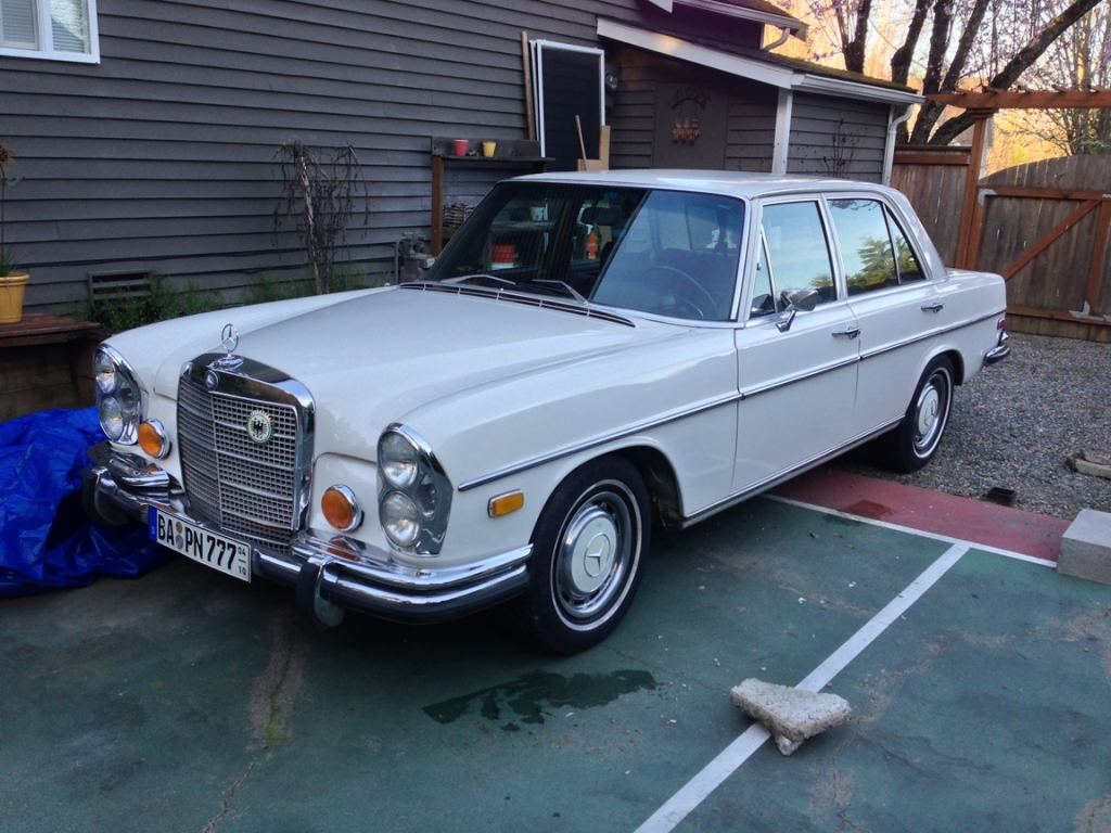 1972 mercedes benz 280sel information and photos momentcar for 1972 mercedes benz