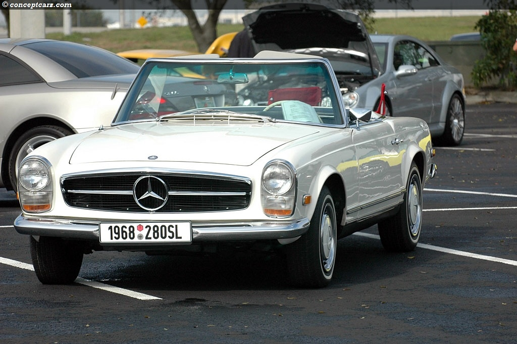 mercedes benz 280sl information and photos momentcar. Black Bedroom Furniture Sets. Home Design Ideas