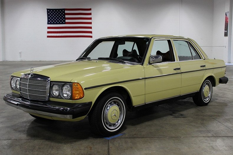 1978 mercedes benz 300d information and photos momentcar