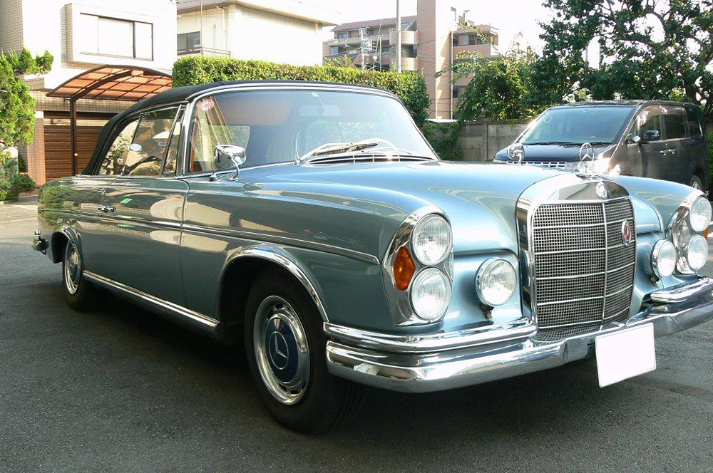 1963 mercedes benz 300se information and photos momentcar