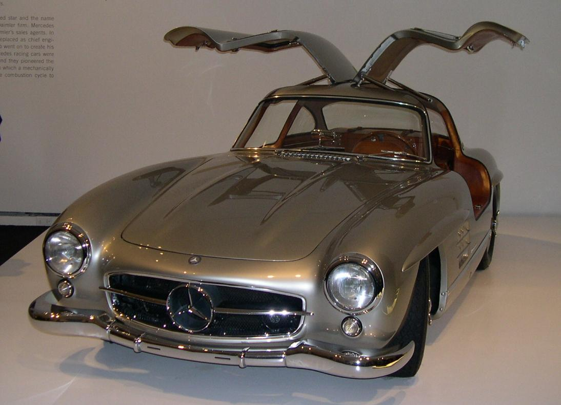 Mercedes-Benz 300SL 1954 #12
