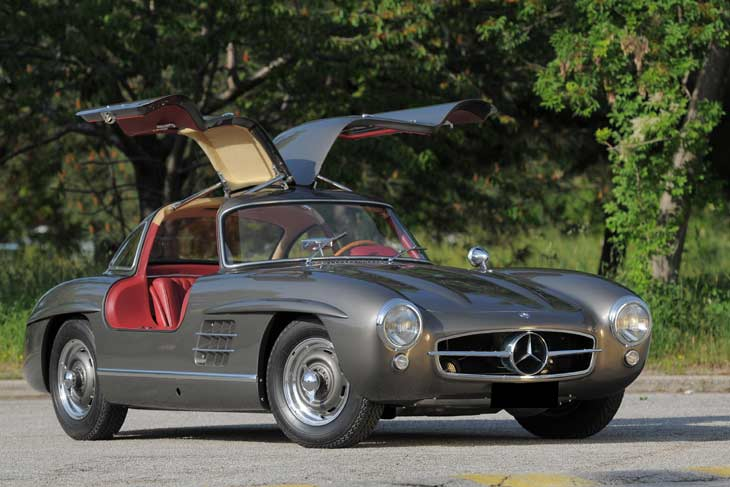 1955 mercedes benz 300sl information and photos momentcar for Mercedes benz gullwing 1955